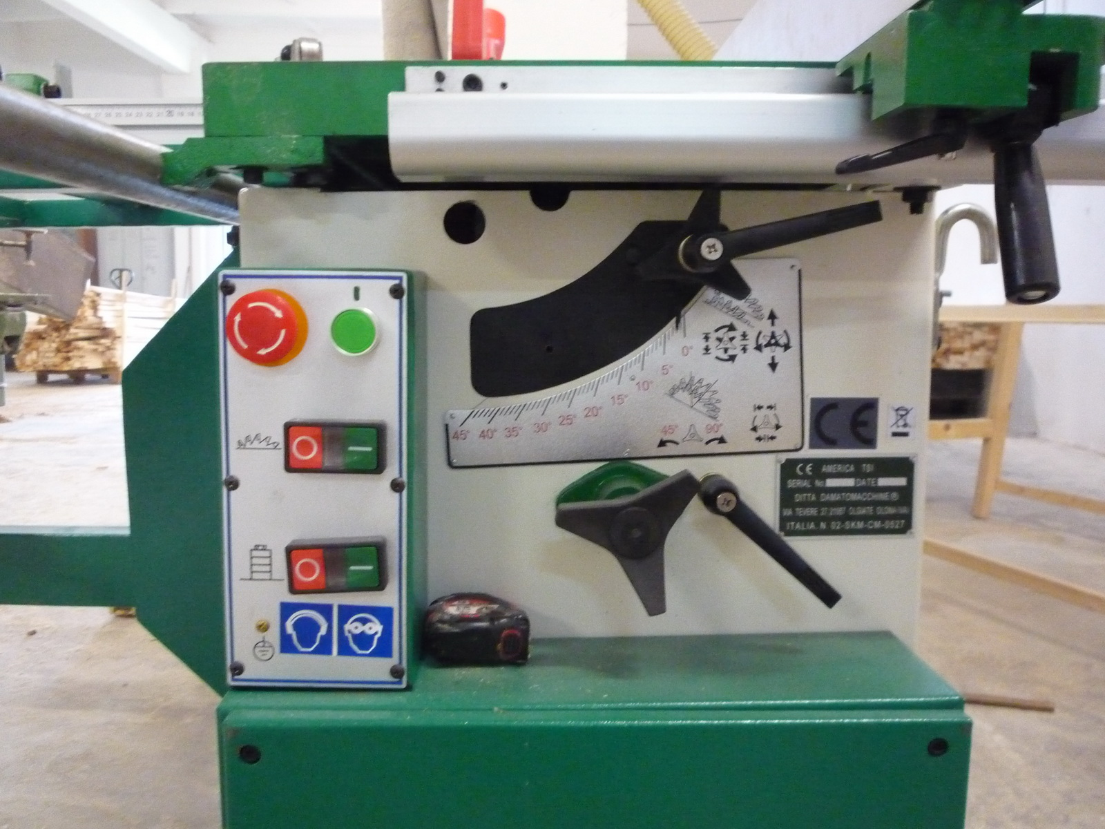 Masina Combinata lemn circular cu Freza damato machine  TSI super 2600 2