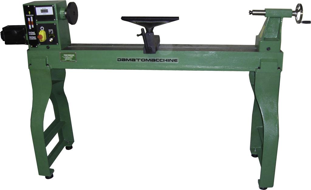 Strung pentru lemn cu dispozitiv de copiere manual for Tornio damatomacchine